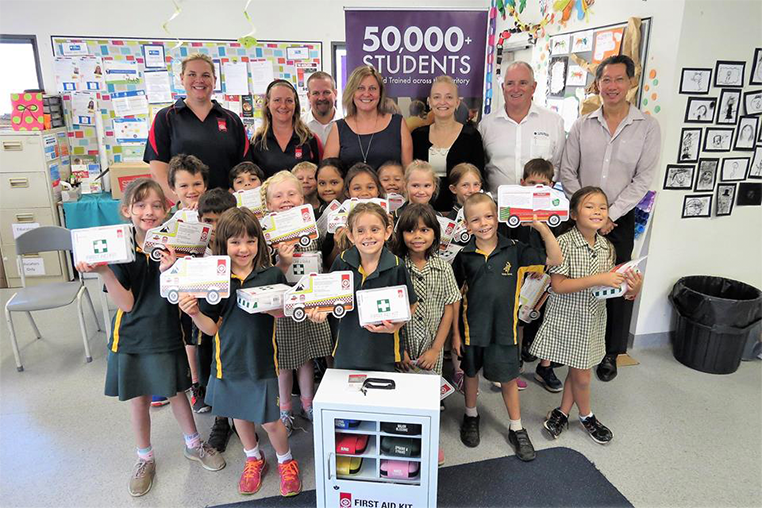 50,000 Students - First Aid in Schools FREE Program