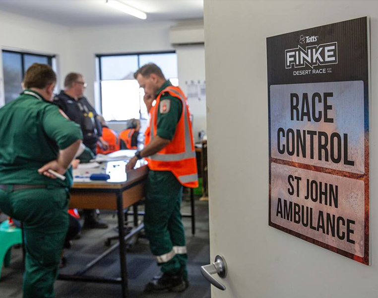 St John Ambulance assembles largest medical response in history of Finke