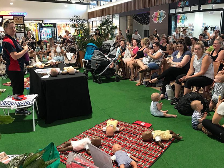 Baby CPR Course A Hit With Parents