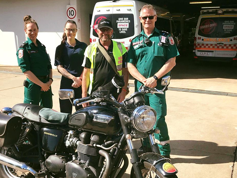 Black Dog Ride Arrives In Darwin