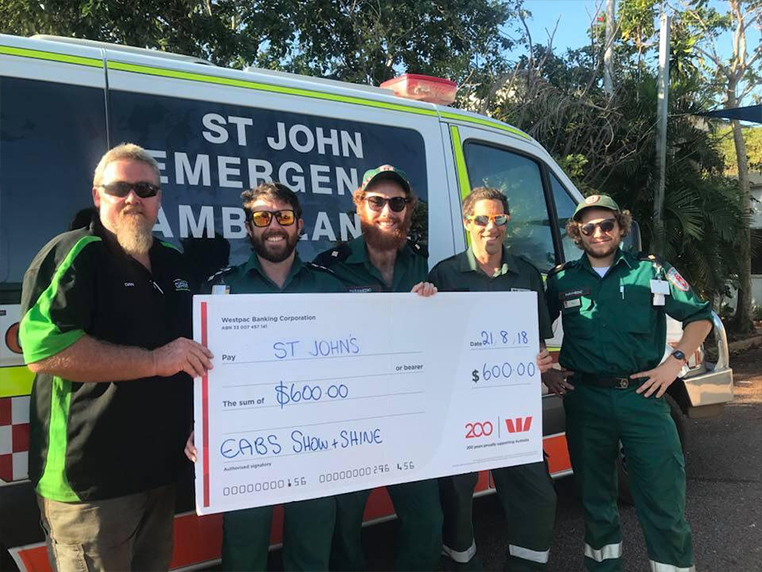 EABS Proud Supporter Of St John Ambulance
