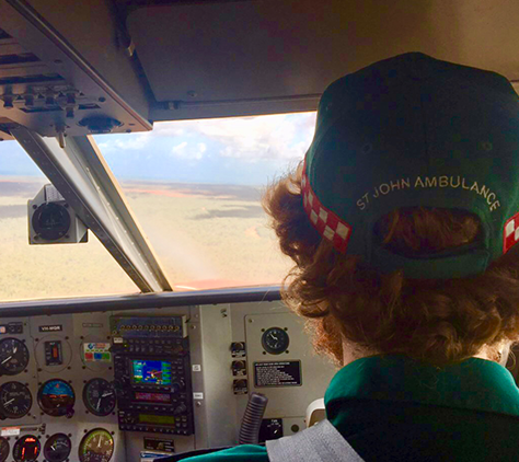 PARAMEDICS TAKE TO THE SKIES TO HELP INJURED CHILD