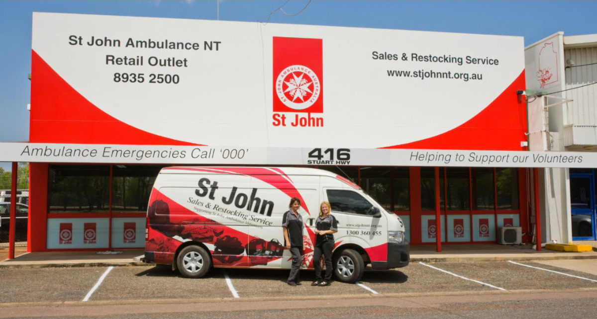 St John Ambulance First Aid Restocking Services